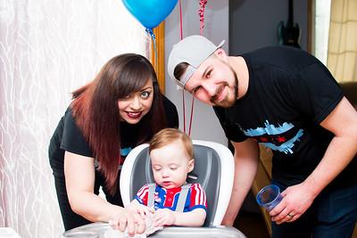 Holden's First Birthday