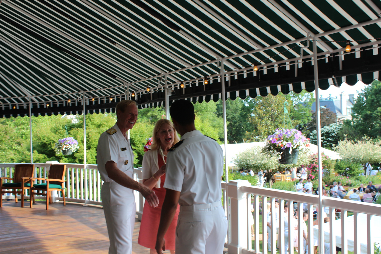 Meeting the Sup. - VADM Miller
