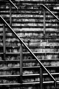 Stainless Steel and Steps.