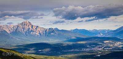 Jasper National Park, Pyramid Mountain