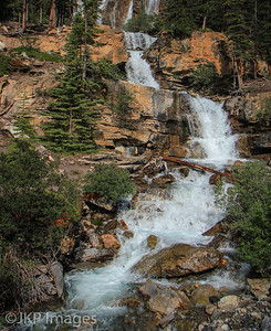 Jasper National Park, Tangle Falls