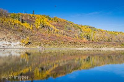 Fall at North Saskatchewan River, near Devon AB