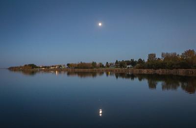 Leduc, AB. Telford Lake