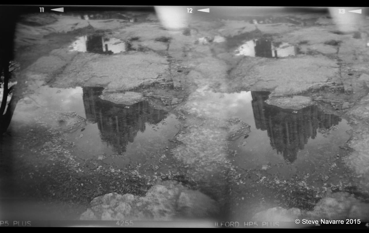 Sebelius Monument reflection