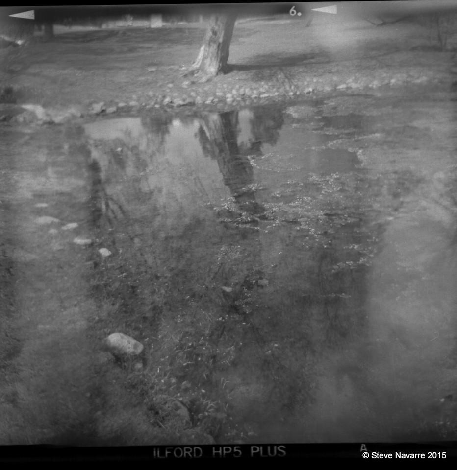 Pond in Sebelius Monument Park