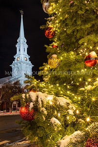 North Church at Christmas