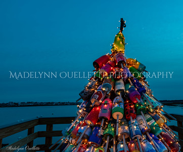 Christmas Buoy Tree 2