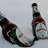 Harpoon Winter Warmer is a locally popular and annually produced brew. The Boston brewery's creation is served just about everywhere and pairs a nice malty finish with cinnamon and nutmeg.