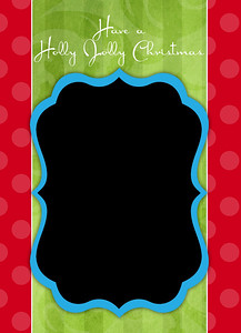 Holly Jolly Christmas Front 5 x 7