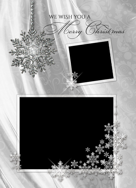 White Christmas Front 5 x 7