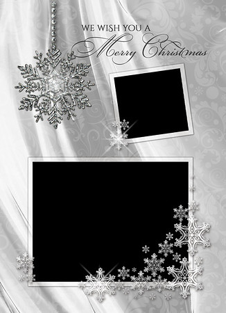 White Christmas Front 5 x 7