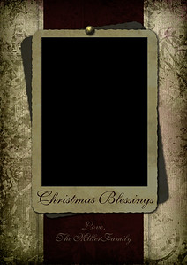 Christmas Blessings Front 5 x 7
