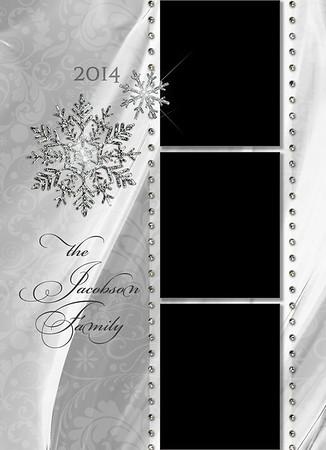 White Christmas Back 5 x 7