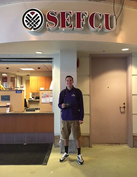 Owen H. - Winner of SEFCU $500 for textbooks contest