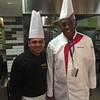 Chef O. with Guest Chef Hari Nyak