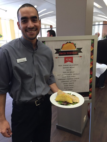 Taco Tuesday at the Patroon Room