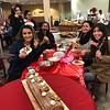 holiday cookie decorating at colonial, December 2017