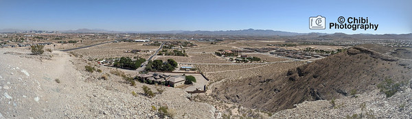 Las Vegas Panorama - Mountains Edge