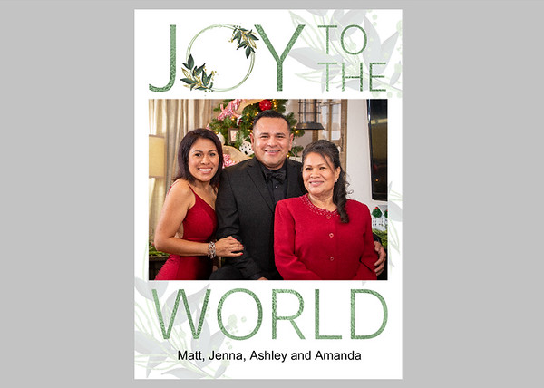 Joy to the World Green Front