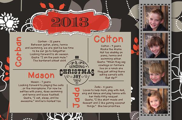 Ward 2013 card