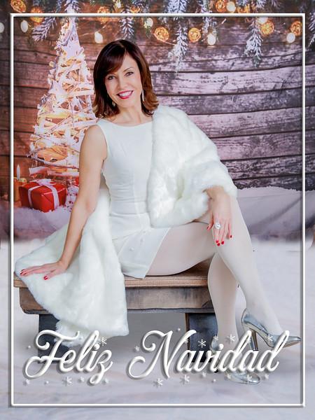 Feliz Navidad Framed