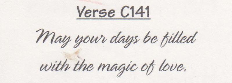 Verse C141