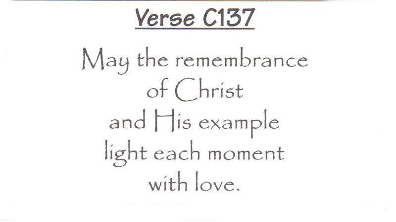 Verse C137