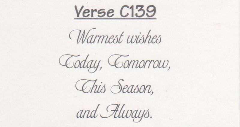 Verse C139