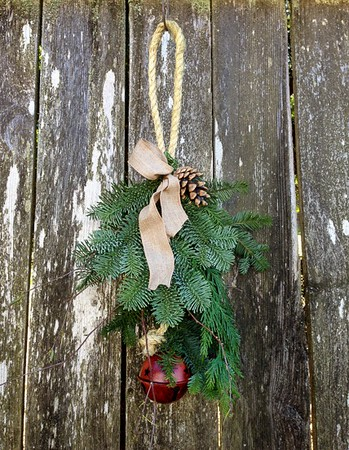 "20"" Jingle Bell Door Charm. Hang on door knob or in the center of your door!"