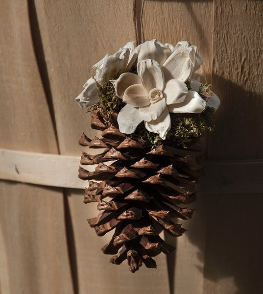 Decorated Medium Cone