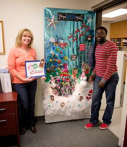 Holiday Door Decorating Contest.