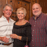 Jack Burrice and Susan Mullins with Ed Fallon of Park Community Credit Union.
