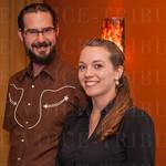 Christopher Derome and Lori Ferree.