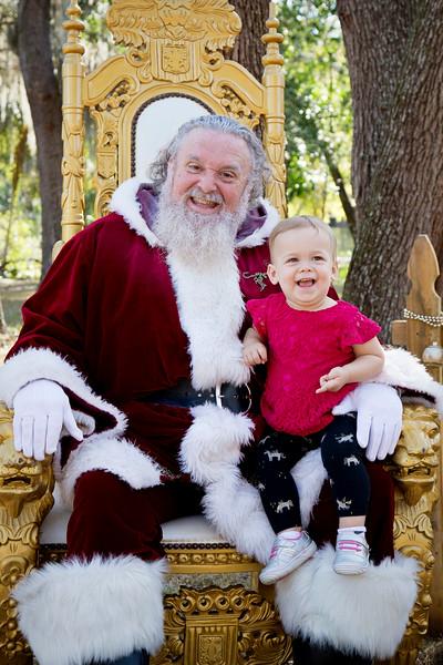 Santa Mini Sessions 2017: Bowie and Santa!