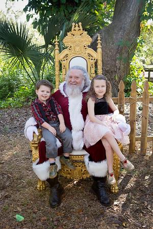 Santa Mini Sessions 2017: Carmella, Luca, Rocco, and Santa!