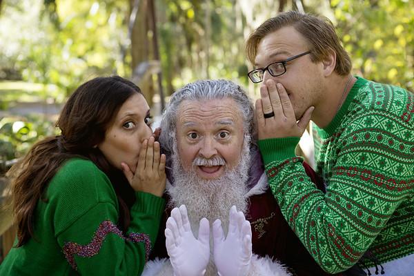 Santa Mini Sessions 2017: Gregg, Christina, and Santa!