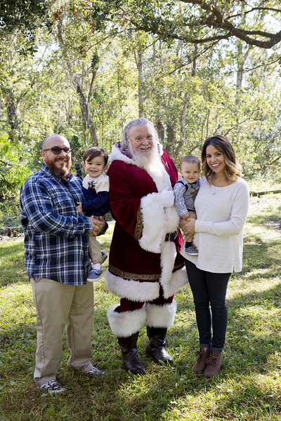 Santa Mini Sessions 2017: Jasper, Milo, and Santa!