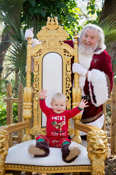 Santa Mini Sessions 2017: Kaden and Santa!