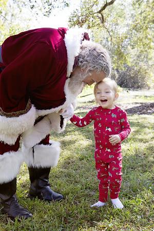 Santa Mini Sessions 2017: Kierán and Santa!