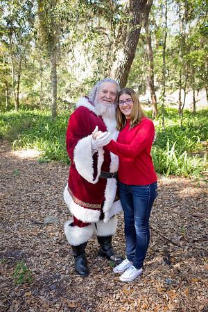 Santa Mini Sessions 2017: Melissa and Santa!