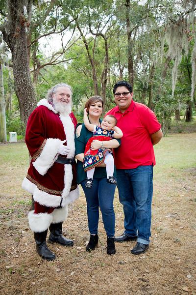 Santa Mini Sessions 2017: Melodie, Thiago, Jocelynn, and Santa!