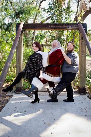 Santa Mini Sessions 2017: RJ, Marissa, and Santa!