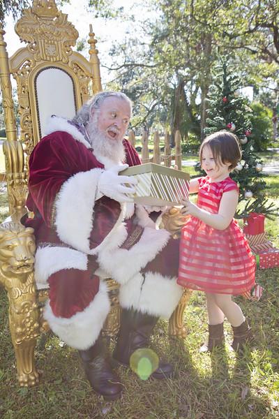Santa Mini Sessions 2017: Renee and Santa!