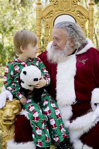 Santa Mini Sessions 2017: Rowan and Santa!