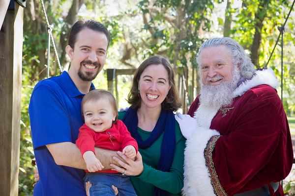 Santa Mini Sessions 2017: Rylas and Santa!