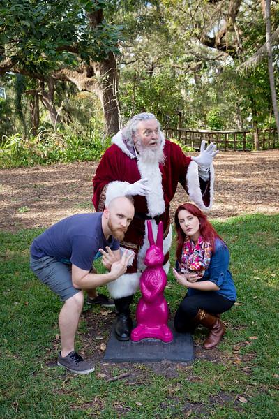 Santa Mini Sessions 2017: Santa and the Crew