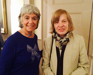Deedee O'Brien and Mary Denise McCarthy of Lowell