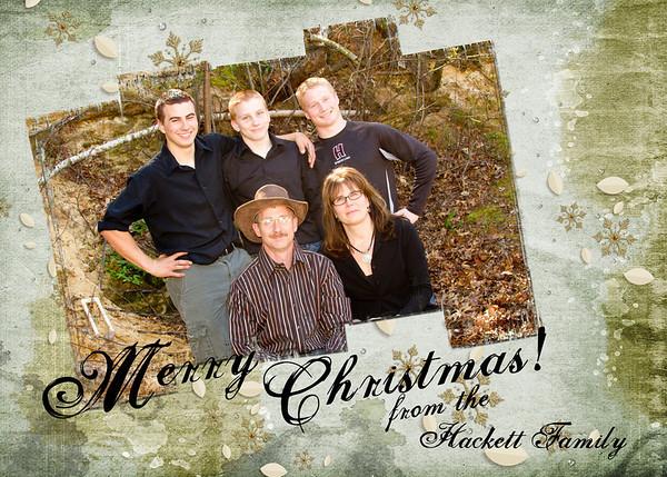 Hackett family holiday2012
