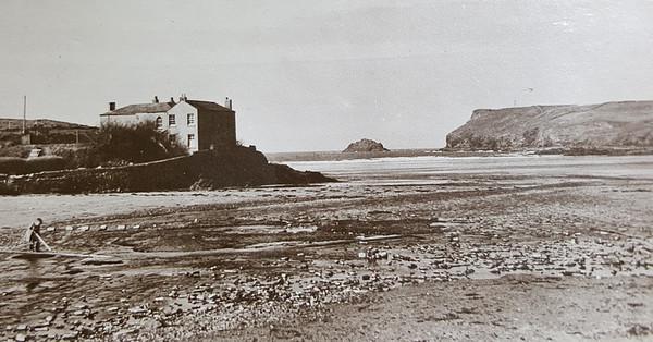 Polzeath House historical from Granpa's album