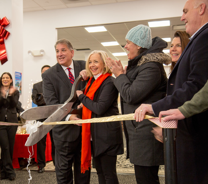 Bank of America - ribbon cutting and store opening
